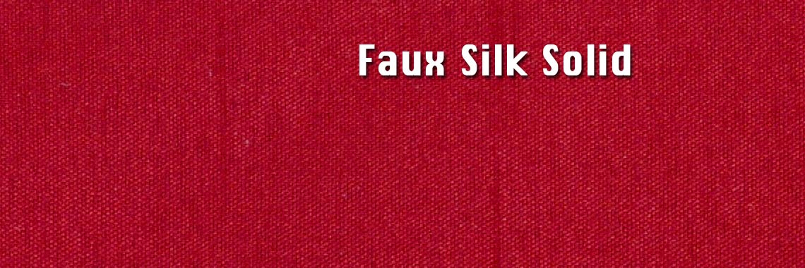 Faux Silk Solid